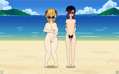 A day at the nude beach by qringstaff
