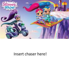 Shimmer, Shine and Zeta Being Chased by Who? by MatthewJabezNazarioA