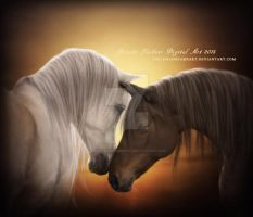 Horses by ThelemaDreamsArt