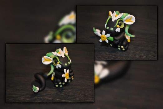 Daisy the Baby Dragon by KirstenBerryCrafts
