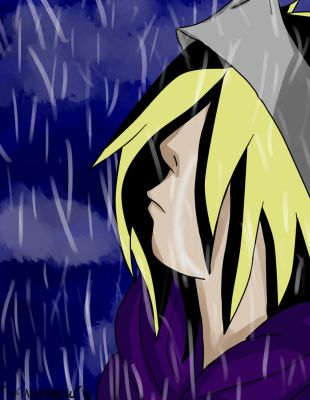 Sasudie In The Rain Crying -Cover- by narusasulover16
