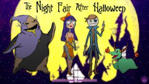 The Night Fair After Halloween by AnutDraws