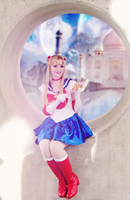 Sailor Moon Cosplay, Silver Millennium by GlowingSnow