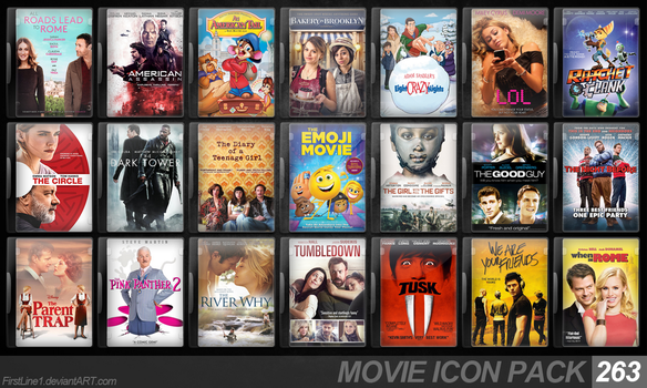 Movie Icon Pack 263 by FirstLine1