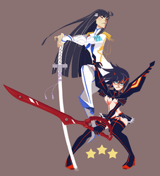 Kill la Kill by felitomkinson