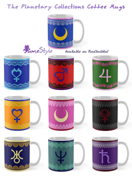 The Planetary Collections - Coffee Mugs by Sarinilli