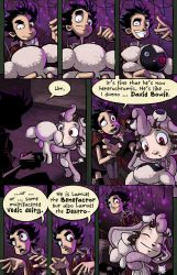 Fearsome Critters pg. 3 by squidbunny