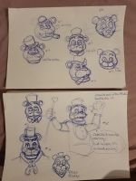 Cabaret Freddy Doodles by PinkyPills
