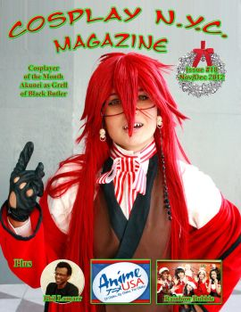 CosplayNYC Magazine Nov/Dec 2012 by CosPlayNYC