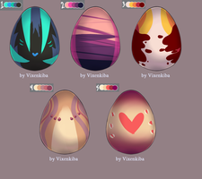 Egg Adopts [4/6 OPEN] by ADrawingFox