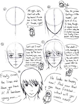 Anime Head Tutorial by TheTC13