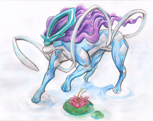 Suicune by X-Tidus-kisses