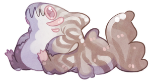 Pastel tiger shark (auction) 15$ by Shegoran