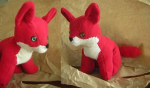 Pinky th Pinkness Fox - Finished by PoonieFox
