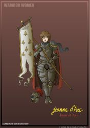 Warrior Women: Joan of Arc by Hunter-Wolf