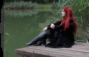 Black Mystic Goth Stock 004 by MADmoiselleMeliStock