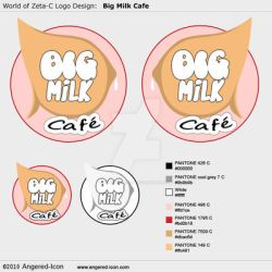 Logo Design - Big Milk Cafe by Angered-Icon