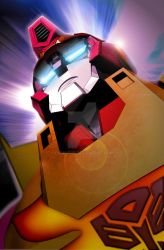 Rodimus Prime all our one. by cirus5555