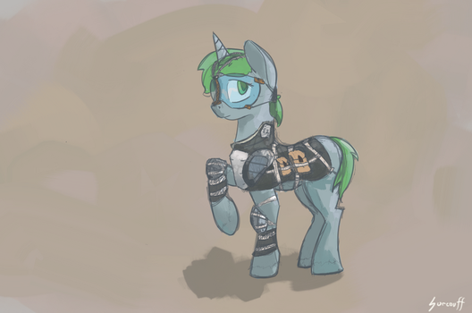 Canterlot Police - Light riot gear by surcouff