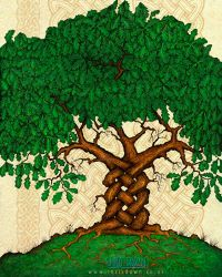 Celtic Tree Magic by Dysis23A