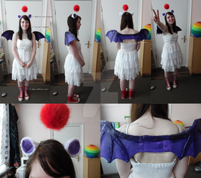 Moogle cosplay WIP/Preview by Rina-chanxMemories