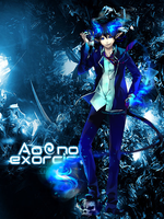 Ao no Exorcist by CutInSaber