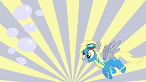 derpy wonderbolt by neodarkwing