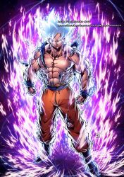 GOKU ULTRA INSTINCT SILVER from Dragon Ball by marvelmania