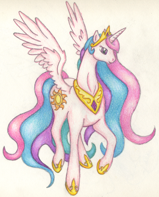 Graceful Celestia by ssjessiechan