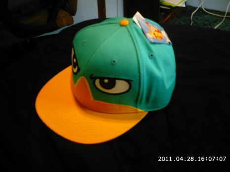 Perry the Platypus hat by Porygon2z