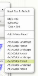 ArtRage ISO size canvases (for versions 2 and 3) by sickfish