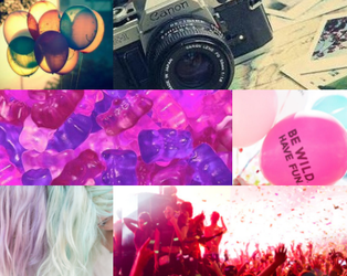 Miley and Lily Aesthetic Board by crystalpink1616