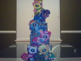 My Little Pony Perler Bead Gala Silly Fillies by Perler-Pony