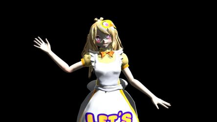 Chica  the chiken by AireVee