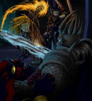 Us vs the Lich King by FeatherGale