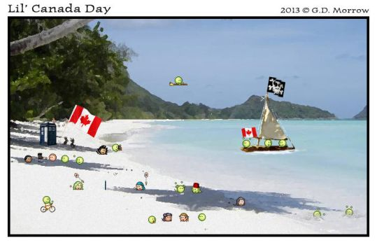 Lil' Canada Day 2013 by DrOfDemonology