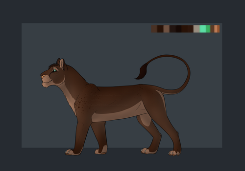 Lioness Character Auction [OPEN] by TheAdoptArtist