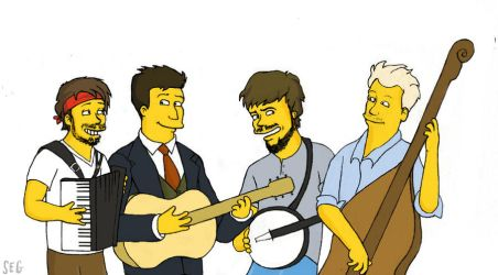 Mumford and Simpsons by K1D6R4Y