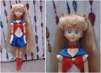 My 17' Sailor Moon doll by Sweet-Blessings