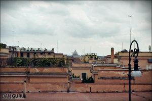 Roman Rooftops by RoqqR