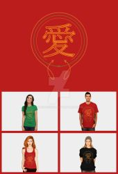 Chinese Symbol for Love by DRX-Design