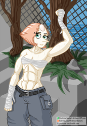 Pearly Abs by ProfessorDoctorC