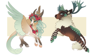 CHIBI ADOPTS| soft green friends by queerly