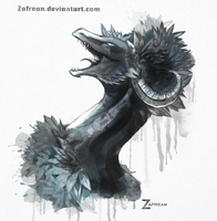 lilly crown by Zafrean