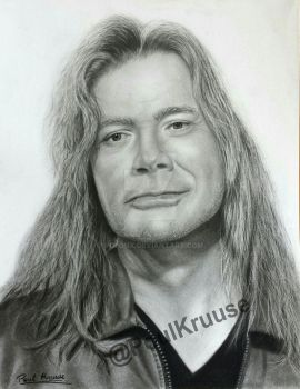 Dave Mustaine by Polonx