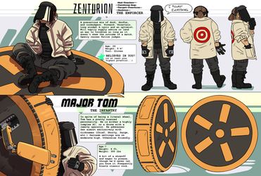 AATRV: The Enforcer and the Infantry by Zenner-Zenturion