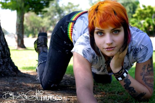 Green grass and my ass by brittymon37