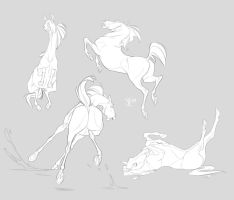 sketches by Yuliandress