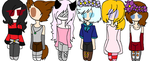 Adopts 2 :FREE: : NOT OPEN ANYMORE: by Bonnieart04
