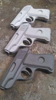 Team Fortress 2 Engineer/scout pistol prop casts by zanderwitaz